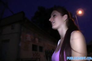 publicagent amazing outdoor sex with beautiful
