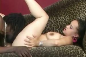 kewl booty ebon girl enticed sexy