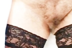 breasty lady irma got extremly hirsute cunt