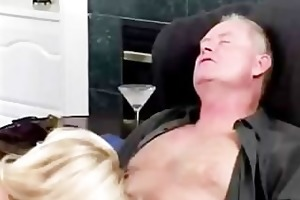 spouse gives his busty wife a special anal