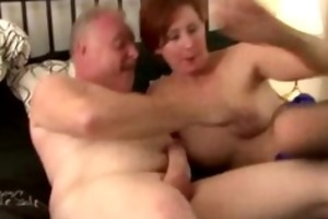 older british lady in nylons copulates truck