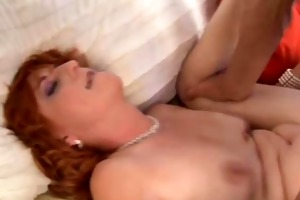 hot older red head can to fuck