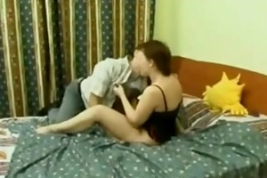 older russian wench acquire drilled and licked
