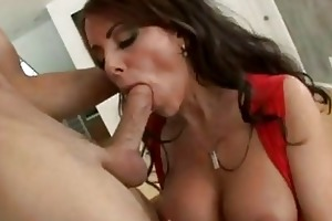 indecent momma victoria valentino enjoys a soaked