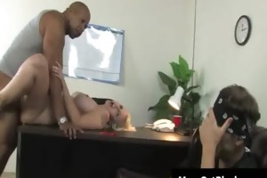 sexy breasty milfs have a fun darksome cockhard