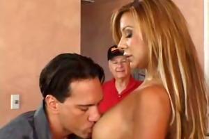spanish swinger wife screwed, great tits!