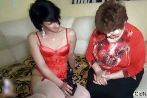 wicked old woman goes avid making out part6