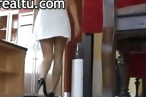 outstanding cheating wife shows her excitement