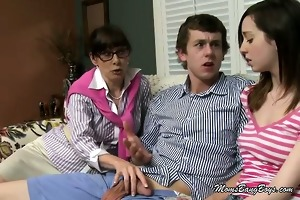 sexually excited mamma wants juvenile doxy to gag