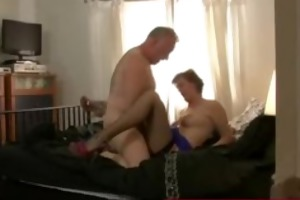 aged truck driver fucking a lascivious bitch