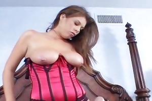 large breasted brunette hair mother i rides a wang