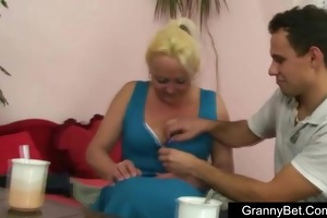 sexual rural granny creamed
