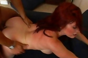 glamorous breasty redhead d like to fuck receives