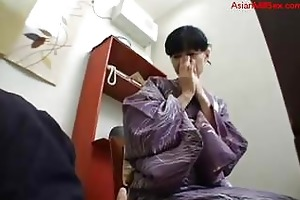 d like to fuck in kimono getting her unshaved