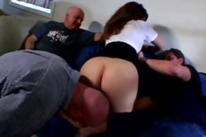 lewd mommy acquires group-fucked