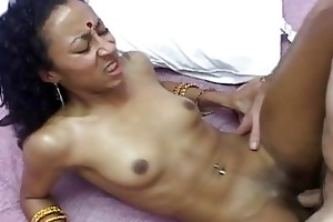 hawt indian wife receives her bawdy cleft filled