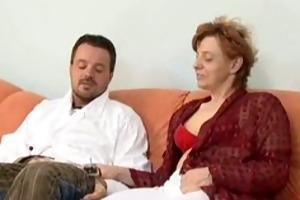 hirsute mama anal and facial