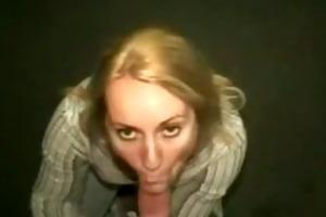 elevator oral-sex almost got caught