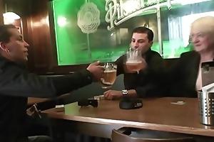 men fuck absolutely boozed granny