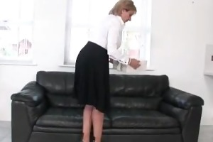 aged lady sonia acquires off