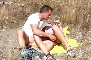 excited d like to fuck gets drilled hard outdoor