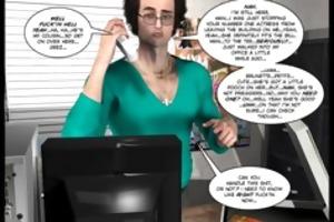 3d comic: raymond. video 8