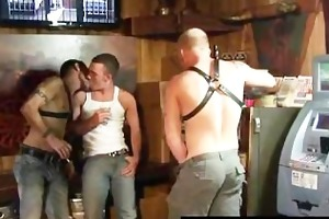 butch bum bashing in the back room part5