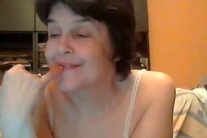 mature woman chatting online