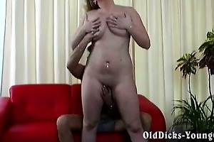 fat blond pounding horny old man