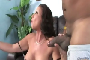 mommy going dark - hard-core interracial super