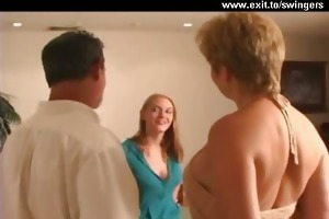 ffm swinger three-some with aged mamma and legal