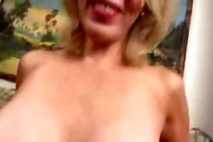 aged mama t live without juvenile cock in her