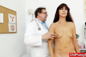 granny acquires her puss gaped during a gyno