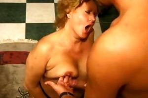 german mommy engulf juvenile lad