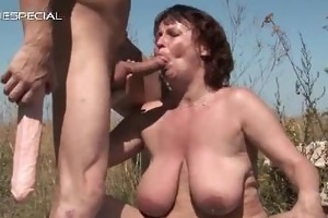 aroused mum receives her hirsute muf pounded part2