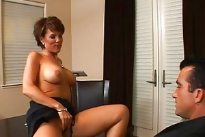 excellent busty dark brown mother i getting her