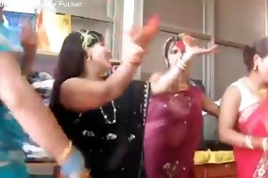 nepali aunties bouncing milk sacks and dancing
