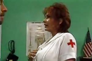 aged nurse screwed in hospital