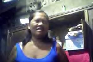 filipina grandma merlen dela victoria 53 showing