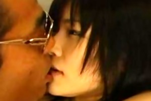 older oriental d like to fuck gives blow job and