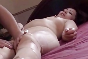 outstanding japanese mature chick engulfing