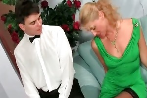 pretty mother i blonde acquires that moist part1