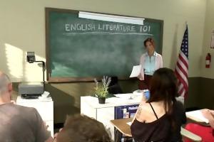 home invasion receives college teacher