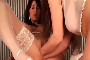 double fist fucking for her greedy fuck aperture