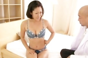 ayaka wicked japanese milf widens her part2