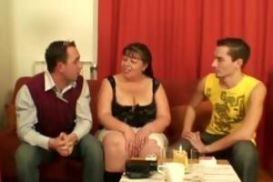 humorous guys group-sex older fatty