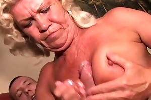 aged bitch t live without fucking with her wide