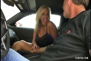 hawt mother i jerking in the car