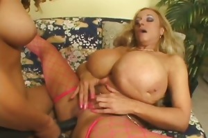 older lesbian whore acquires screwed with sex tool