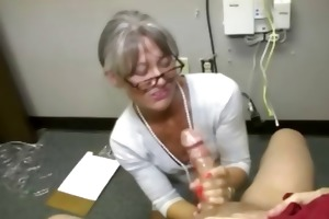 insane mother i craves him to cum in her hands